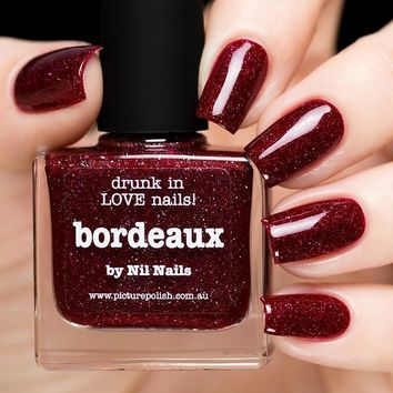 Picture Polish Bordeaux Nail Polish