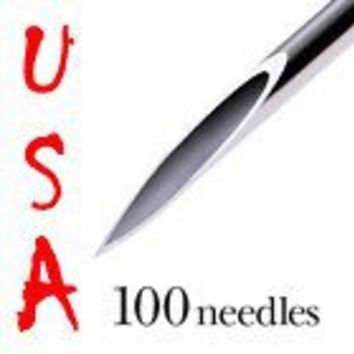 Getbetterlife 100 Mix Body Piercing Needle Sizes 12G 14G, 16G, 18G and 20G
