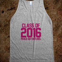 Class of 2016 hot pink magenta GFTO - Awesome fun #$!!*&