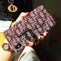 Dior Retro iPhone Phone Cover Case For iphone 6 6s 6plus 6s-plus 7 7plus 8 8plus iPhone 11 iPhone X XR XS XS MAX PRO MAX