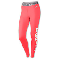 Women's Nike Pro Hyperwarm Mezzo Waistband Tights