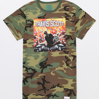 Diamond Supply Co x Travis Scott Camo Explosion T-Shirt at PacSun.com