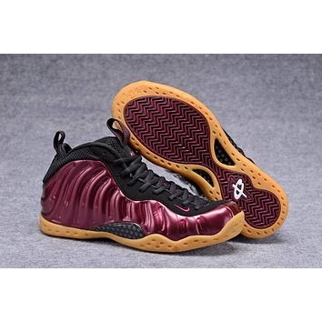 Air Foamposite One Wine Red