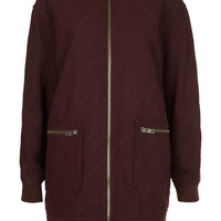 Petite Quilted Longline Bomber - New In This Week - New In - Topshop USA