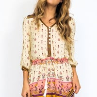 Spell Desert wanderer playsuit in high noon