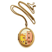 Heartworks By Lori: C'Mon Get Happy Locket Necklace, at 8% off!