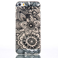 Floral mobile phone case for iphone 5 5s SE 6 6s 6plus 6s plus + Nice gift   box!