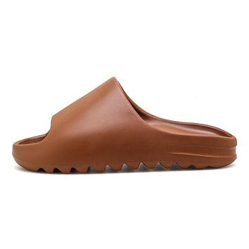 Men's  Fish Mouth Lightweight Yeezy Slides