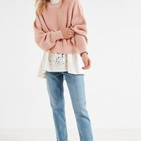 BDG Drop-Sleeve Fisherman Sweater | Urban Outfitters
