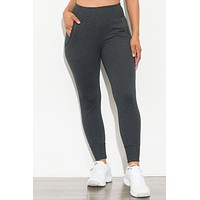 Bring It On Jogger Charcoal Gray
