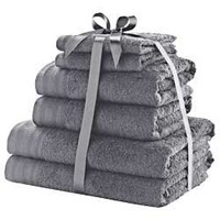 Buy Colour Match 6 Piece Ribboned Towel Bale - Slate. at Argos.ie- Your Online Shop for .