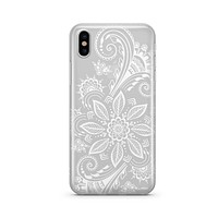 Winter Henna - Clear TPU - iPhone Case