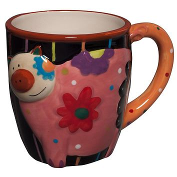 Cozy Pig Coffee Mug