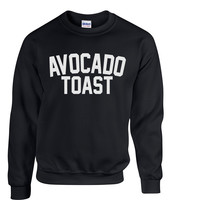 Avocado Toast Crewneck Sweatshirt #A001