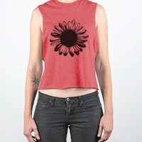 Untitled-Female Heather Red Tank