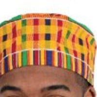 MEN AND WOMEN KENTE HAT