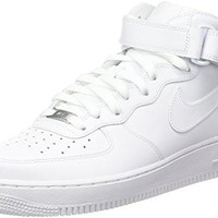 Nike Mens Air Force 1 Mid Basketball Shoes