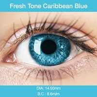 Caribbean Blue Colored Contacts