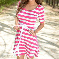 By The Bay Dress, Pink