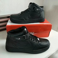 Tagre™ Nike Air Force 1 Unisex Sport Casual High Help Plate Shoes Couple Fashion Simple Sneakers