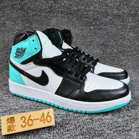 Women's and Men's NIKE Air Jordan 1 generation high basketball shoes 030