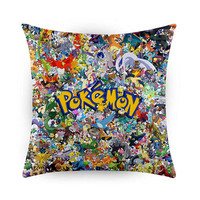 Considered All Pokemon, Pillow Cases, Covers, Decorative Pillow Case