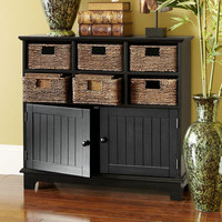 Holtom Cabinet - Rubbed Black