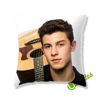 Shawn Mendes Guitar Square Pillow Cover