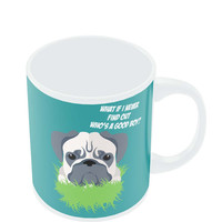 Who's a Good Boy | Pug Funny Face Mug