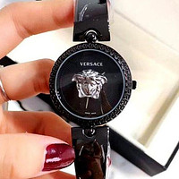 Versace Tide Brand Women'S Simple And Versatile Fashion Quartz Watch