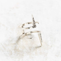 Luv Aj Double Pave Spike Ring - Urban Outfitters
