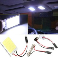 High Quality 8W COB 24 Chip LED Car Interior Light T10 12V Panel light car light source
