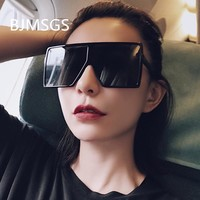 Big Frame Sunglasses For Women Brand Designer Vintage Sun Glasses Oversized Square Shades Black Pink UV 400 Gafas