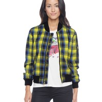 Starlet Plaid Bomber by Juicy Couture