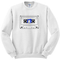 "13 Reasons Why ""Casette Tape"" Crewneck Sweatshirt"