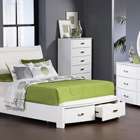 Lyric Queen Size Storage Bed