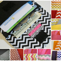 Cute Chevron Wallets for Women, Your Color Choice, Credit Card Wallet, Small Wallet, Fabric Wallet, Chevron Wallets