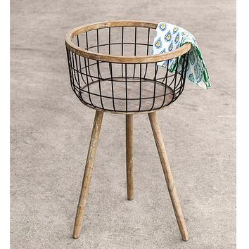 Standing Storage Basket