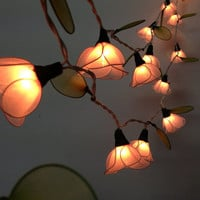 20 Bulbs Pale Pink flower string lights for party and decoration
