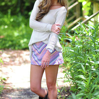 Cute And Cozy Sweater: Tan | Hope's
