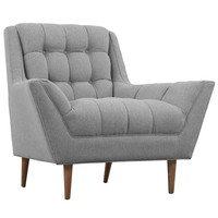 Response Fabric Armchair Expectation Gray