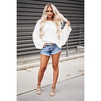 Never Too Soft Sweater (Ivory)
