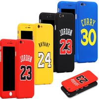 Michael Air Jordan 23 Phone Cover Case for funda iPhone 6 6s 7 8 Plus Kobe Bryant curry Caso Hood capinha for iPhone Case Jordan