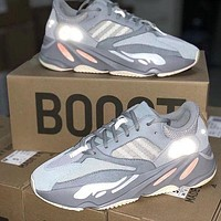 ADIDAS YEEZY 700 Tide brand breathable men and women retro wild sports running shoes 5#