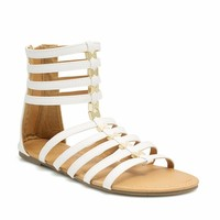 Scaling Ladders Gladiator Sandals
