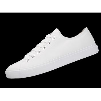 All White Canvas Shoes