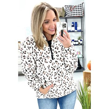 In The Clouds Pullover - Leopard