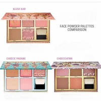 New Makeup Blush Bronzer Eyeshadow palette FACE POWDER PALETTES COMPARISON Blush Bar Rockateur Palette 3 color choose