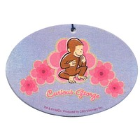 Curious George - Flowers Air Freshener