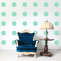 Polka Dot Wall Decals - 4 inches